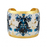 """Rorschach"" Cuff by Evocateur"
