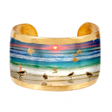 """Sanibel Sunset"" Cuff by Evocateur"