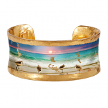 """Sanibel Sunset"" Corset Cuff by Evocateur"