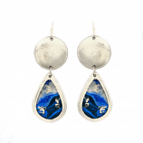 """Cast Yourself on Every Wave"" Mini Teardrop Earrings by Evocateur"