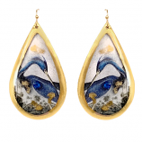 """Blue Heron"" Earrings by Evocateur"