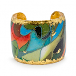 """Rainforest"" Cuff by Evocateur"