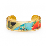 """Rainforest"" Skinny Cuff by Evocateur"