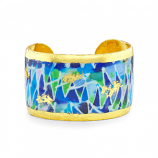 """Fiesta Blue"" Cuff by Evocateur"