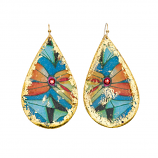 """Sea Floral"" Earrings by Evocateur"