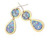 """Abalone"" Earrings by Evocateur"