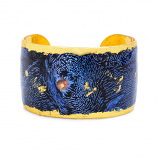 """Blue Clam"" Cuff by Evocateur"