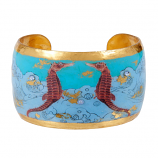 """Seahorse"" Cuff by Evocateur"