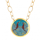 """Seahorse"" Necklace by Evocateur"