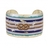"""Nautical Knot"" Cuff by Evocateur"