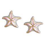 Sterling Starfish Earrings