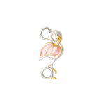 Sterling Flamingo Bracelet Topper