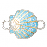 Sterling Scallop Bracelet Topper