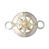 **NEW** Compass Rose Bracelet Topper