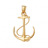 Fouled Anchor Pendant