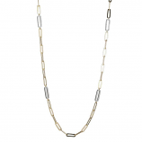 Sterling Paperclip Necklace
