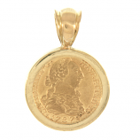 Spanish Gold Bust - One Escudo
