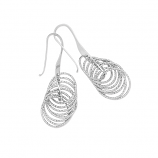Sterling Twister Earrings