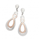 Sterling Pear Shaped Earrings
