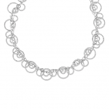 Sterling Circulation Necklace