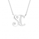 Sanibel Island Initial Necklace