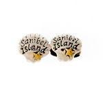 Sterling Sanibel Shell Bead
