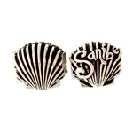 Sterling Sanibel Scallop Bead