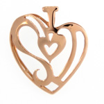 """I Love Sanibel Island"" Heart Pendant"
