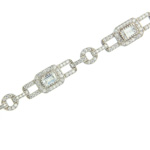 Simulated Diamond Bracelet