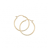1.5 x 20MM Hoop Earrings - Other Colors Available