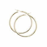 2.5 x 40MM Hoop Earrings - Other Colors Available