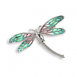Sterling Dragonfly Pin/Pendant