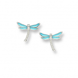 Sterling Dragonfly Earrings