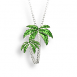 Sterling Palm Tree Necklace