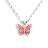 Sterling Butterfly Necklace