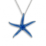 Sterling Starfish Necklace