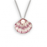 Sterling Small Shell Necklace