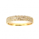 Diamond Band Ring - Other Colors Available
