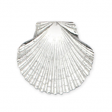 Sterling Fan Shell Pendant