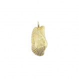 Turkey Wing Shell Pendant/Charm