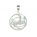 **NEW** Sterling Sanibel Wave Pendant