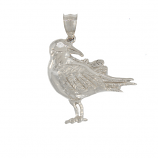 Black Bellied Plover Pendant