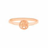 Sand Dollar Stack Ring