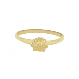 Scallop Stacker Ring