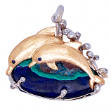 """Day of the Dolphins"" Pendant"