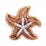 """A Seastar is Born"" Pendant"