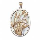 Limited Sanibel Sea Oats Pendant
