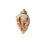 **SOLD** Drusy Shell Pendant