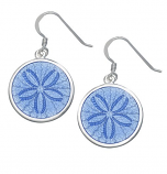 Sterling Sanddollar Earrings