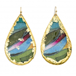 """Rainforest"" Earrings by Evocateur"